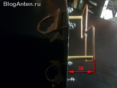 Крепеж для антенны