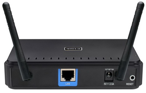 D-Link DAP-1360 разъемы