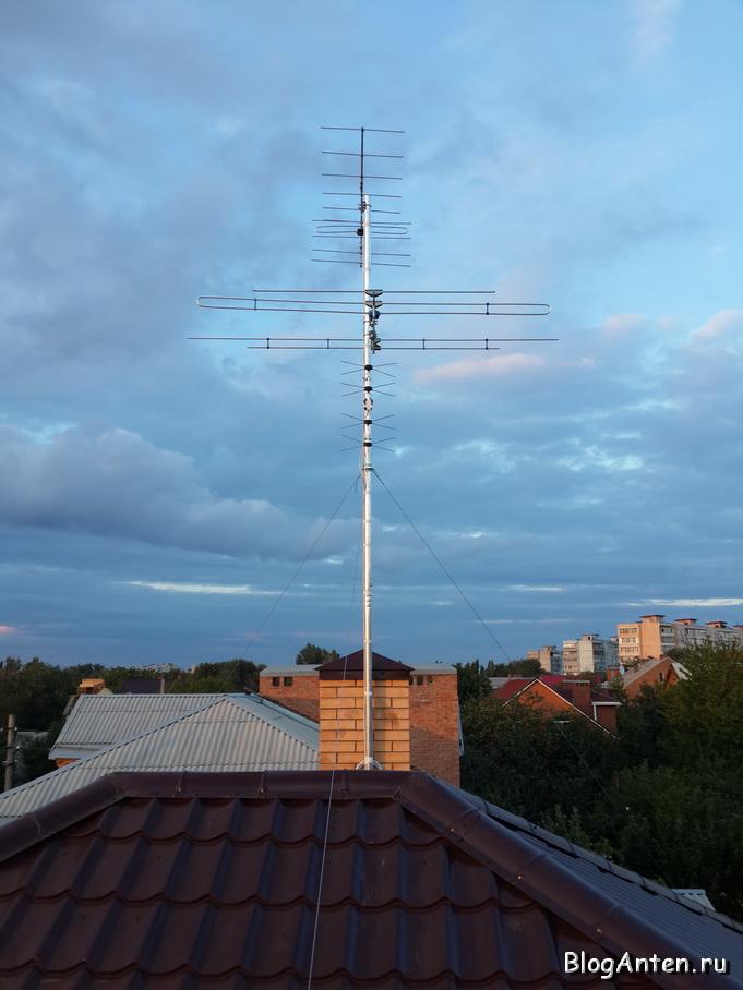 Установка эфирной антенны своими руками 72