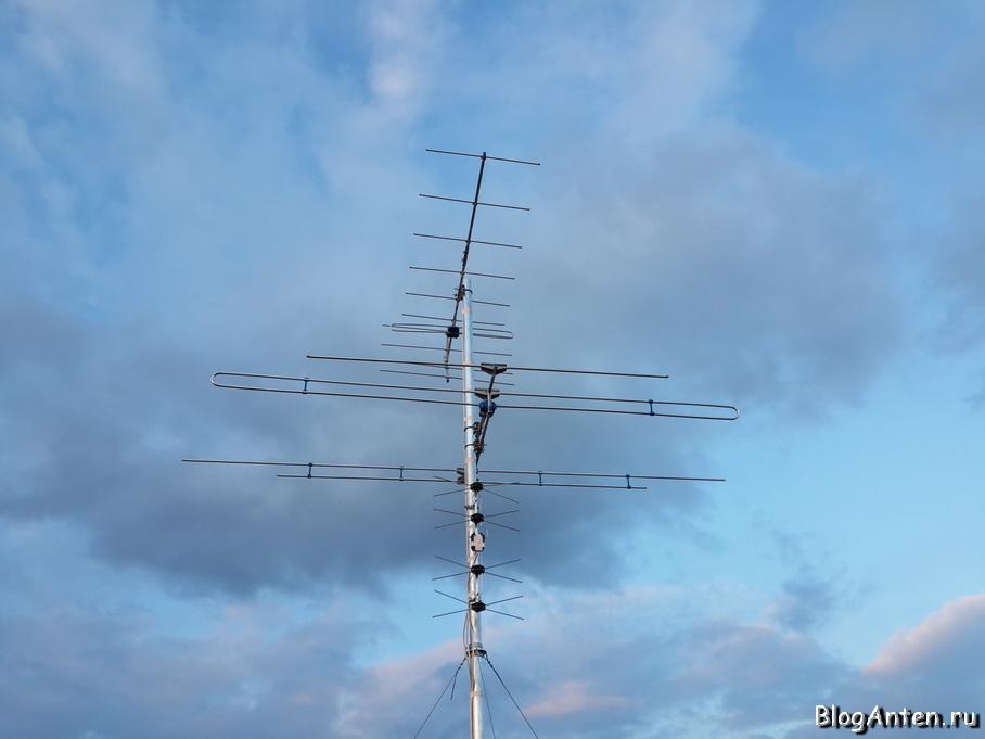 Установка эфирной антенны своими руками 93