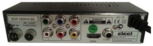 Elect EDR-7820 разъёмы