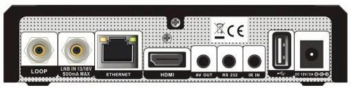 GI 8120 Lite разъёмы