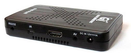 GI HD Slim разъёмы выходы
