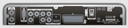 GI S3489 разъёмы