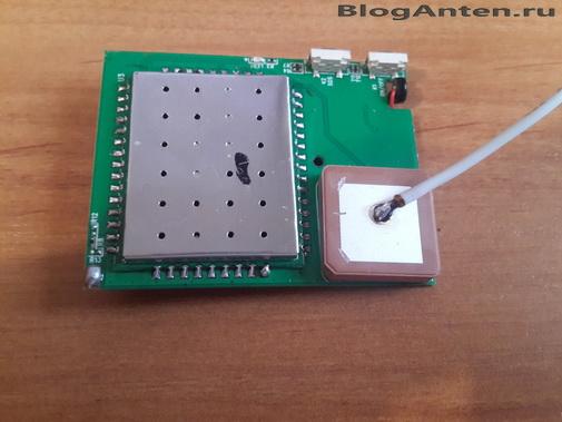 GPS антенна для трекера