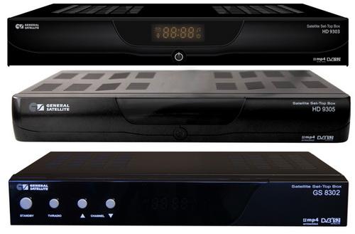 GS 8302 GS 9303 GS 9305 обновление ПО