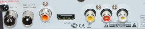 GoldStar GS8833HD разъемы