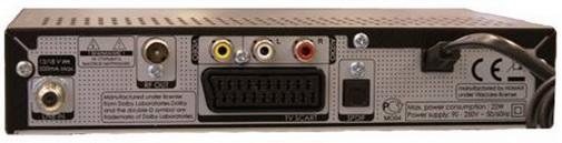 Humax VA-5SD разъёмы