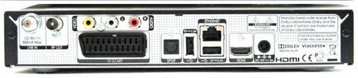 Humax VAHD-3100S вид сзади
