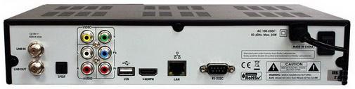 OpenBox S5 HD PVR разъёмы