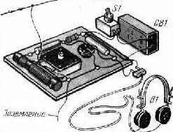 Схема простого радиоприемника