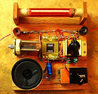 Простой транзисторный радиоприемник