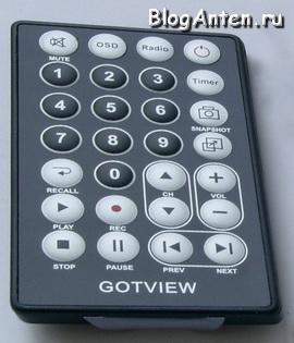 Pult_DU_GoTView_SatelliteHD_USB2.0 DVB-S2