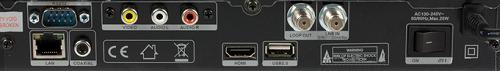 Sat-Integral S-1212 HD разъемы