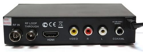 Selenga HD80 разъёмы