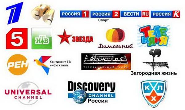 Телекарта список каналов