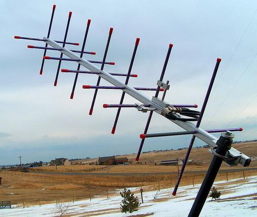 Wi-Fi антенна с круговой поляризацией