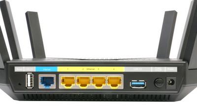 tp-link-archer-c3200 разъёмы