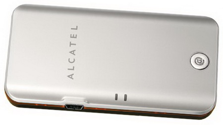 Alcatel One Touch X020 серебристый