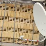 Спутниковая антенна для усиления 3G, 4G.