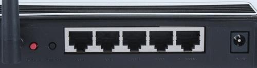 Asus RT-N10 разъемы