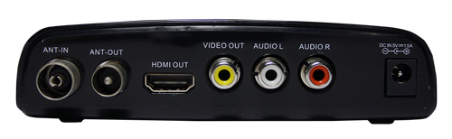 CADENA HT-1302 DVB-T2 разъёмы