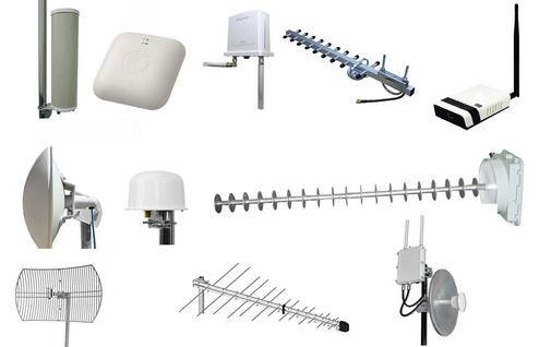 Типы Wi-Fi антенн.