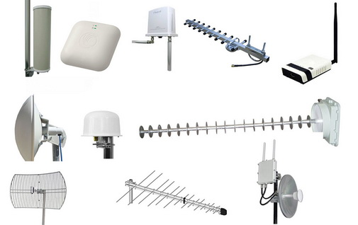 Классификация типов Wi-Fi антенн