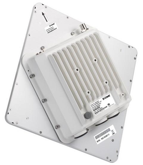D-Link DAP-3760 вид сзади
