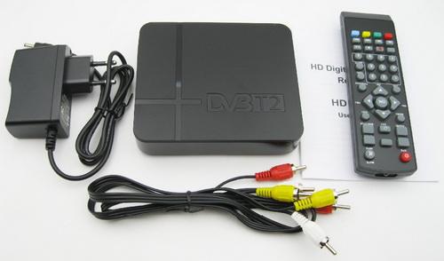 DVB-T2 приемник из Китая комплектация