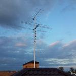 Установка эфирной антенны.
