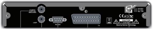GI 1013 задняя панель