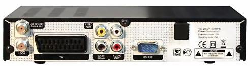 GI S1116 задняя панель