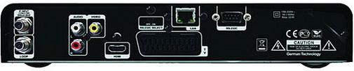 GI S2628 задняя панель