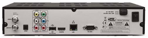 GI S8290 задняя панель