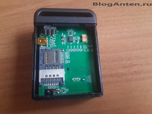 GPS трекер разборка