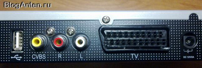 GS-8304 разъёмы