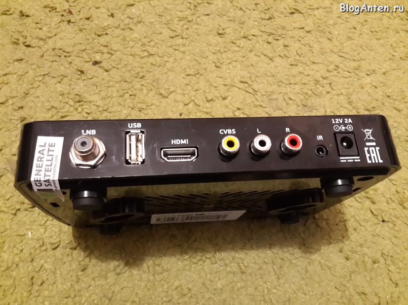 GS B211 разъёмы