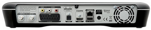 Humax HDR-1000S разъемы