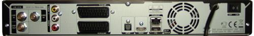 Humax VAHD-3000S задняя панель