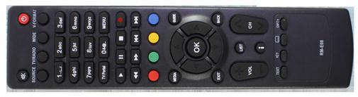 Humax VAHD-3100S пульт