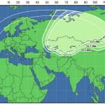 """Карта покрытия """"Триколор ТВ Сибирь"""""""