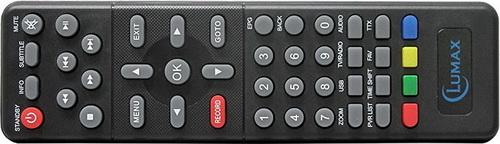 Lumax DVB-T2 1000HD пульт