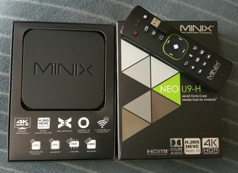 MINIX Neo U9-H упаковка