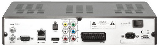 OpenBox S6 Pro HD PVR разъёмы