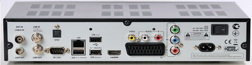OpenBox SX9 HD разъёмы