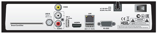 Openbox SX4C Base HD разъемы