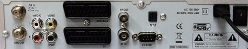Openbox X-750 PVR разъемы