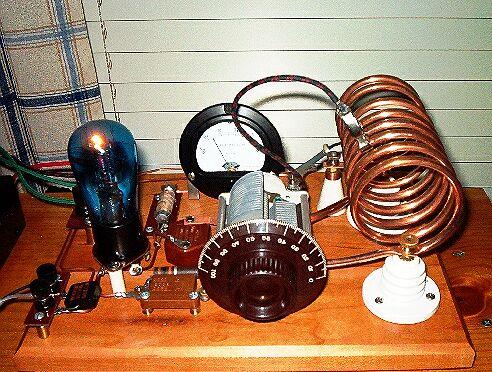 Простой радиоприемник на ламповом усилителе
