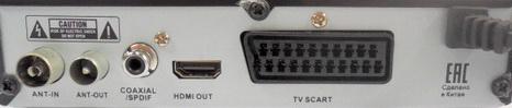 SUPRA SDT-99 разъёмы